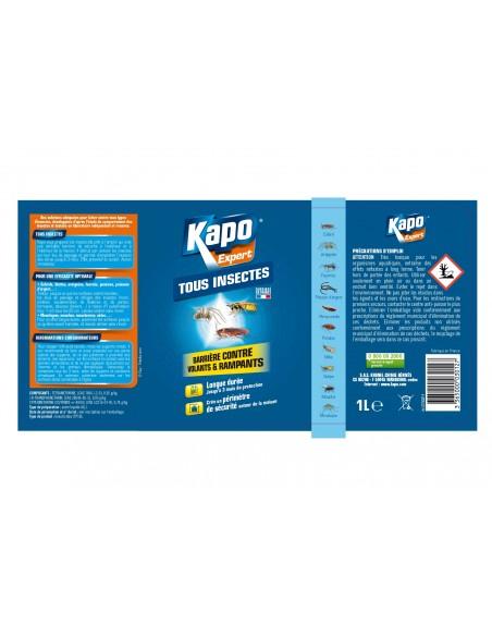 Kapo Pulvérisateur barrière contre insectes volants et rampants
