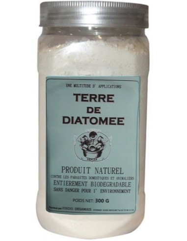 Desamais Terre de diatomée naturelle anti-parasites et puces 300g