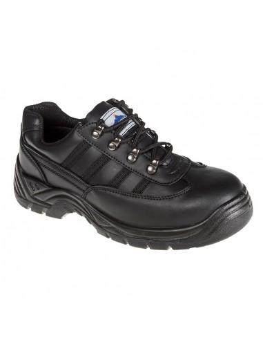 Portwest Chaussure Derby de sécurité S1 Cuir Noir