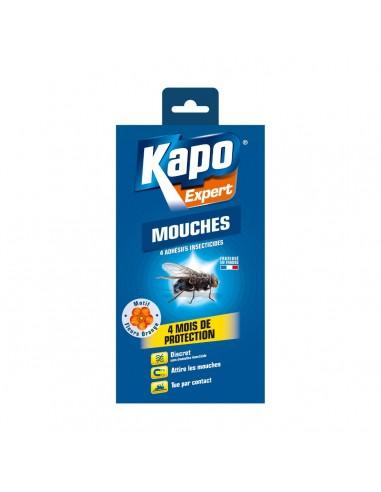 Étui de 4 adhésives insecticides...