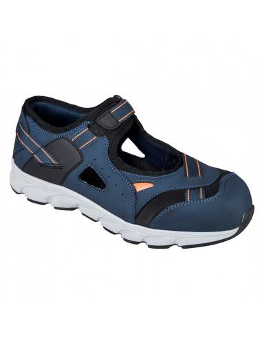 Chaussure Sandale de sécurité S1P Portwest Compoundelite Tay Bleu