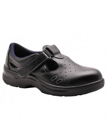 Chaussure Sandale de sécurité S1 Portwest Steelite Noir