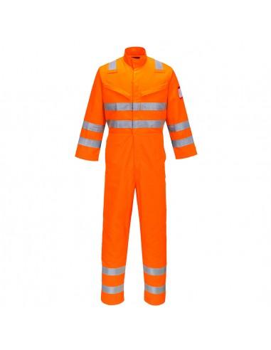 Combinaison Pro Haute Visibilité de protection Anti-Flamme Portwest Orange