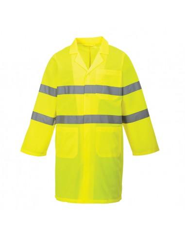 Portwest Manteau de protection haute visibilité style classique léger Jaune