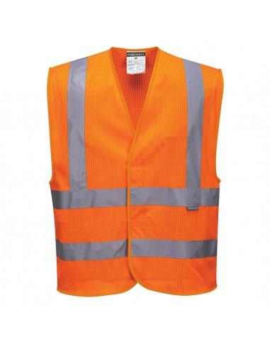 Portwest-Gilet maille haute visibilité milieu très chaud Orange