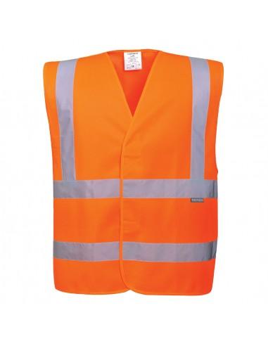 Portwest-Gilet haute visibilité baudrier en double ceinture Orange
