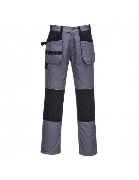 Portwest-Pantalon pro de travail avec poches flottantes porte-outils Gris Graphite