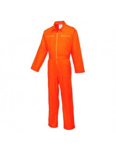 Portwest Combinaison de travail avec fermeture glissière double sens Orange
