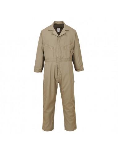 Portwest Combinaison de travail confortable 100% coton Dubai Kaki