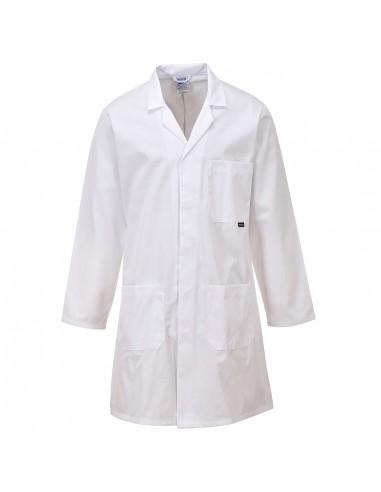 Portwest Blouse Standard de laboratoire professionnelle Blanche