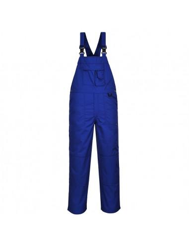 Portwest Cotte à bretelles professionnelle de travail confortable Bleu Roi
