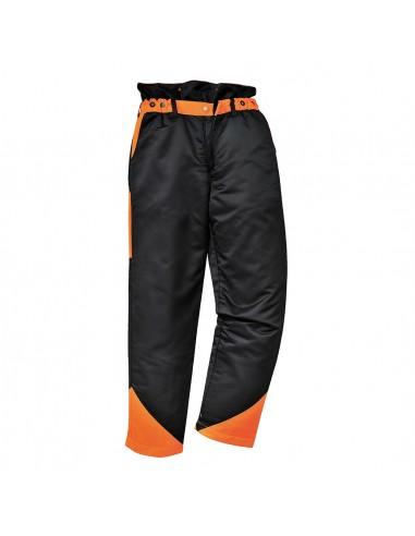 Portwest Pantalon de protection avec 9 couches pour chaque jambe Noir