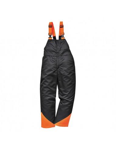 Portwest Cotte à bretelles de sécurité avec 9 couches de protection Noir