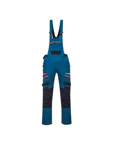 Portwest Cotte à bretelles slim de sécurité professionnelle DX4 Bleu Métro